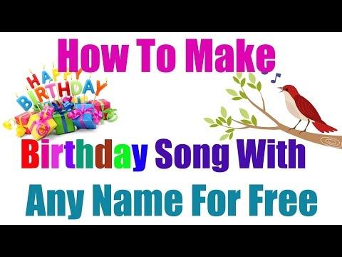 How To Make Birthday Song Of Your Name |अपने नाम का बर्थडे सांग कैसे बनाये |online tricks and offers