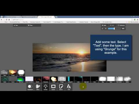 Create Facebook Timeline Cover Easily With Pixlr Express