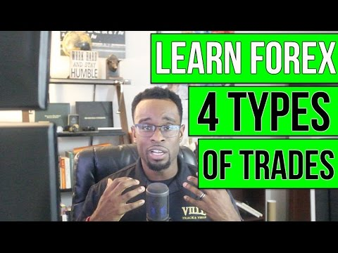 LEARN FOREX: 4 Types of Trades