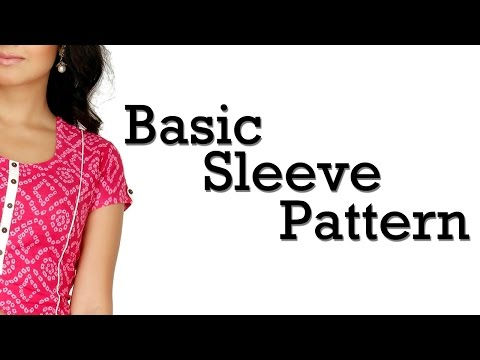 How to Make Basic Sleeve Pattern!!