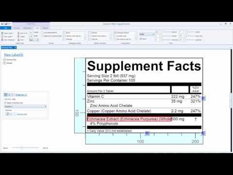 Genesis R&D Supplements Label Basics