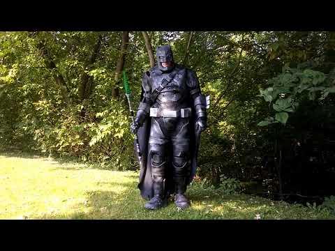 Batman dawn of justice cosplay batman vs superman armor foam batman suit Affleck