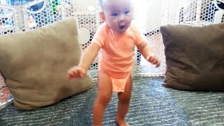 Cute Babies Walking For The First Time 🤣 Precious Moments Video