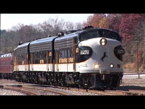 Ride the Norfolk Southern Executive Train - Part One