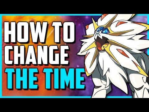 How To Change The Time in Pokemon Sun and Moon (Day to Night/Night to Day)