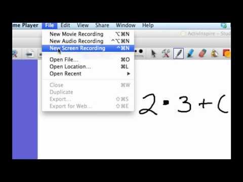 Screencasting Basics