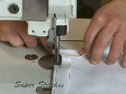 Banner sewing  with Super Stitches