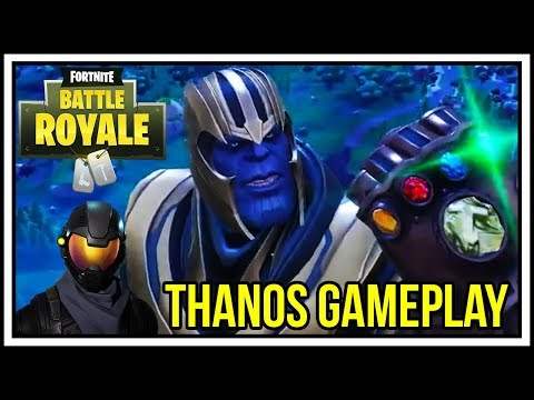 THANOS INFINITY GAUNTLET MODE | Fortnite Battle Royale with SMK