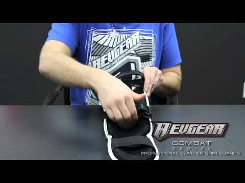 Revgear Professional Leather Shin Guard - Combat Fight Gear