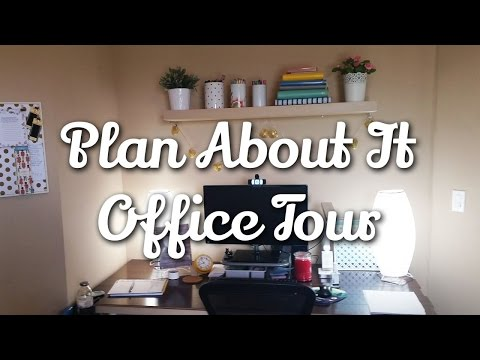 Plan About It Etsy Shop Office Tour