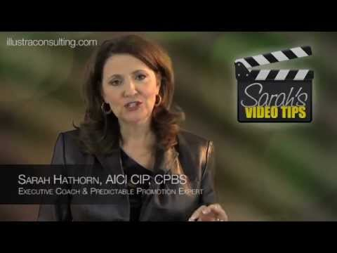 Sarah's Video Tips - How to counteract workplace negativity