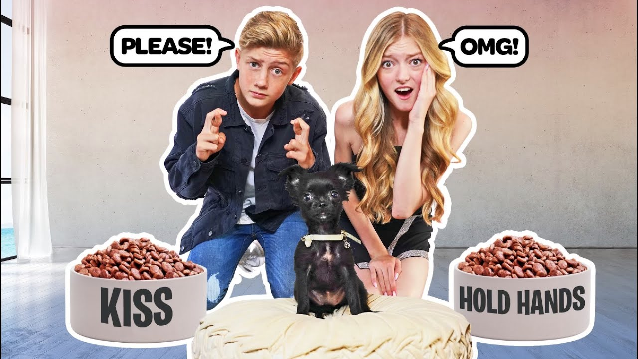 My DOG Controls My DATE With My CRUSH **CHALLENGE** 🐶🥰| Emily Dobson