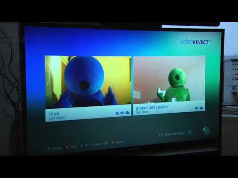 Video Chat with Kinect and Messenger