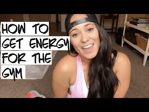 GET ENERGY TO WORKOUT | Taking Pre Workout