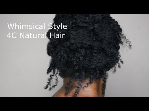 Wedding & Prom Style | 4C Natural Hair