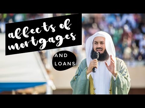 Affects of having interest(riba)/loans/mortgage (4mins) (MUFTI MENK) EPIC!
