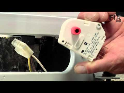 Amana Refrigerator Repair – How to replace the Defrost Timer Kit - 120V 60Hz