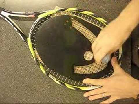 How to Stencil a Tennis Racquet