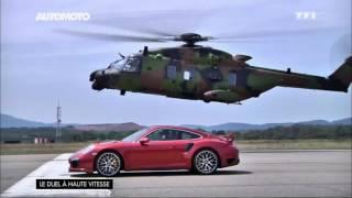 Défi : La Porsche 911 vs Hélicoptère de l'armée