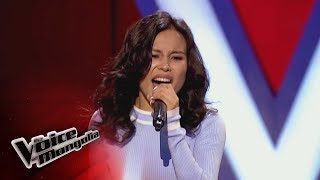 """Idermaa.S - """"Somethings got a hold on me"""" - Blind Audition - The Voice of Mongolia 2018"""
