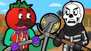 HAUNTED HILLS ZOMBIES | Tomato & Burger (Fortnite Animation)