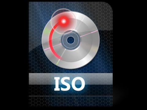 how to create iso image files