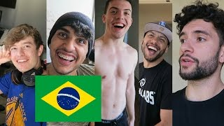 SPEAKING PORTUGUESE AT THE FAZE HOUSE