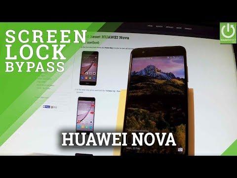 Hard Reset HUAWEI Nova - Bypass Screen Lock / Restore Nova