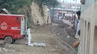 Pakistan Railways  well come Rohri  Railway Station By  Kafeel Mughal