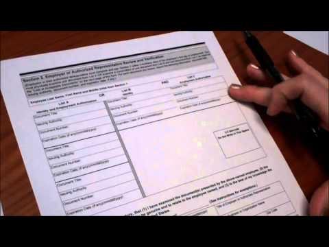 HRxPERT: I-9 Form for New Employees