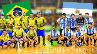 BRASIL vs ARGENTINA   PARTIDO CANCHA de 5 en la COPA AMERICA 2019