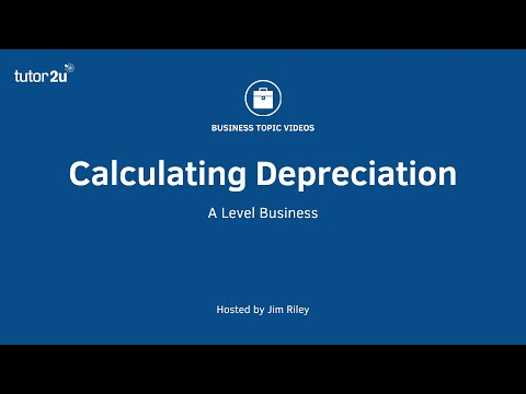 Calculating Depreciation