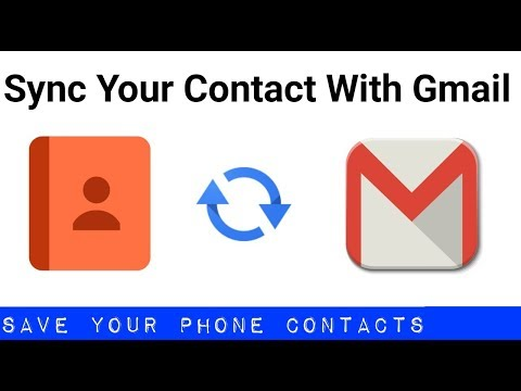 How to sync your phone contacts on Android with Gmail Account