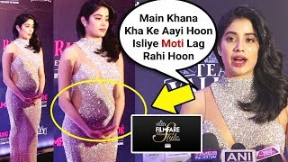 Janhvi Kapoor SH0CKING Comment On Her Increasing Weight
