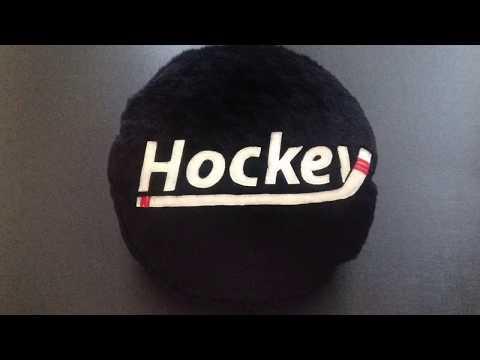 Hockey Plush Cushion