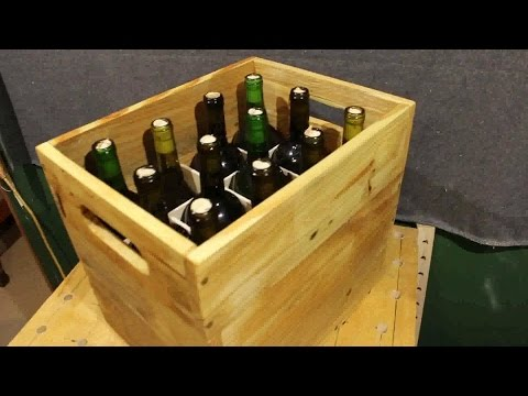 Pallet Wood Project - Wine Storage Crate