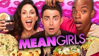 MEAN GIRLS Themed Food w/ Jonathan Bennett! (Cheat Day)