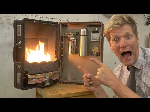 The Briefcase Fireplace