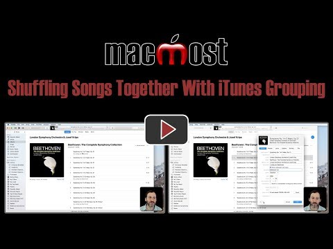 Shuffling Songs Together With iTunes Grouping (#1648)