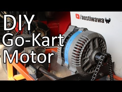 Converting a Car Alternator into a Go Kart Motor