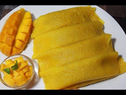একদম অন্য স্বাদের পাটিসাপটা রেসিপি||Aam Patishapta||Mango Crepes Recipe||Aam-er Patishapta Recipe