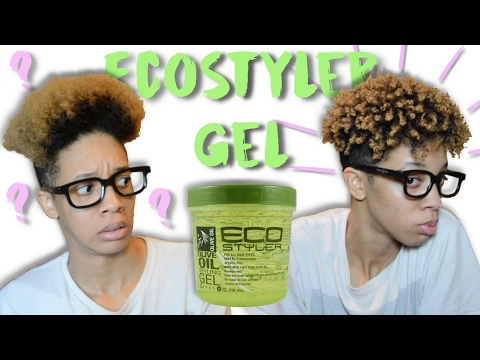 Styling with Eco Styler Gel | Short Natural Hair