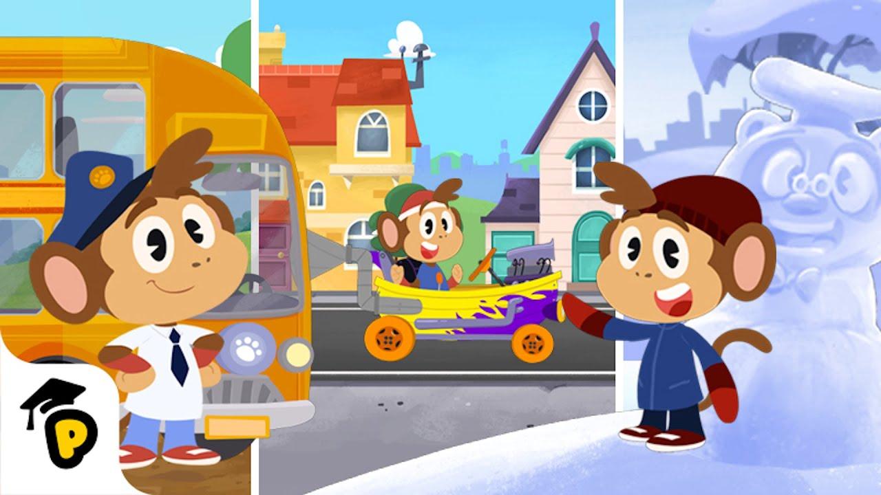 Download Bip's Adventures   Compilation   Kids Learning Cartoon   Dr. Panda TotoTime MP3 Gratis