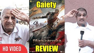 Manikarnika Movie Public Review | Gaiety Galaxy Bandra | 5 🌟🌟🌟🌟🌟 STAR REVIEW
