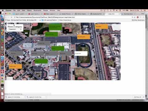HTML CSS jQuery Tutorial Map App Part 5