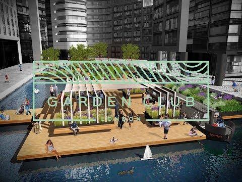 Garden Club London - Floating Pocket Park