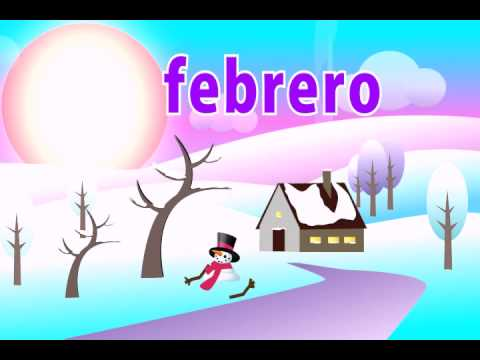 🎶 Learn the Months of the Year in Spanish Song - Kid's Spanish songs