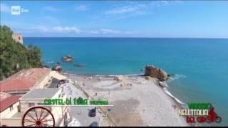 RAI 2: VIAGGIO NELL'ITALIA DEL GIRO fa tappa a Fiumara d'Arte