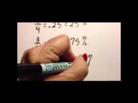 Fraction decimal equivalents part 2