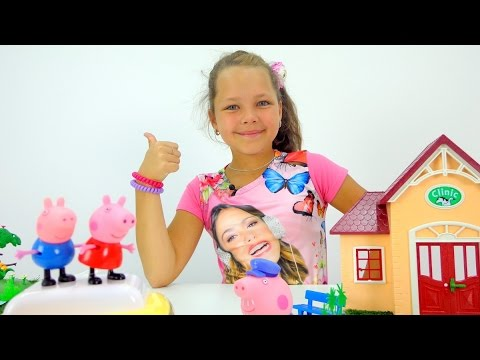 Rozetkaua Мягкая игрушка Peppa Pig Пеппа с игрушкой